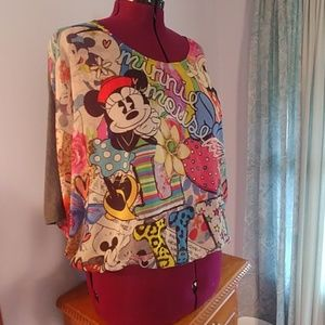 Fun Minnie Mouse Top